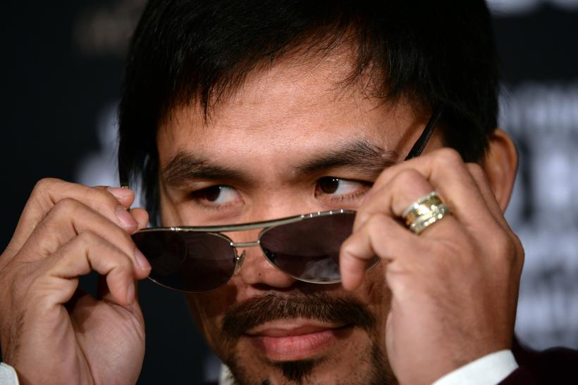 Manny Pacquiao same sex marriage homosexuality