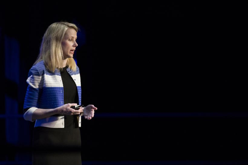 Yahoo Inc. CEO Marissa Mayer, San Francisco, Feb. 18, 2016