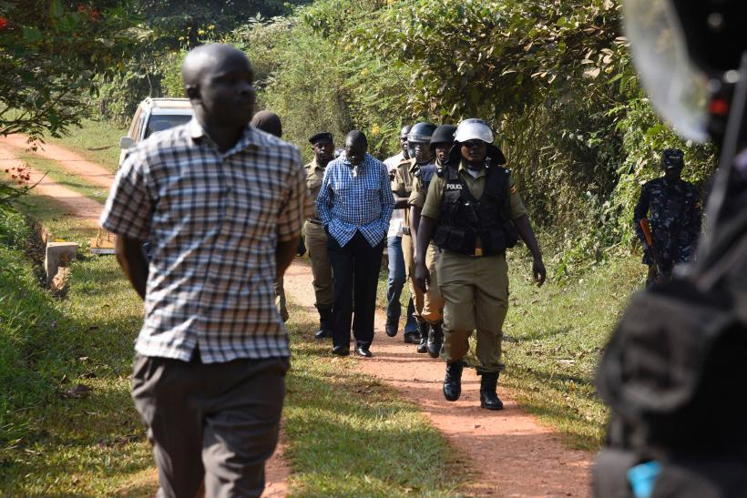 Kizza Bsigye Uganda Election 2016 arrested