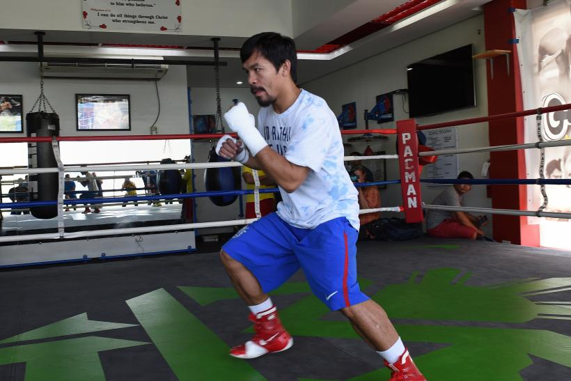 Manny Pacquiao sponsorship deal Nike negotiations