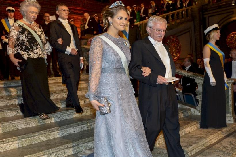 Princess Madeleine and chemistry laureate Paul Modrich