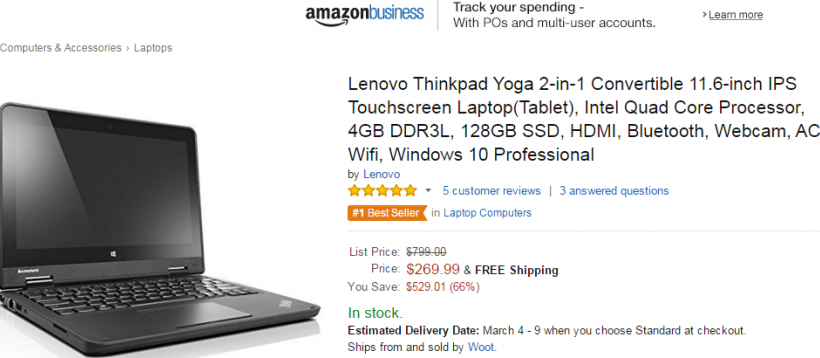 Amazon Lenovo Thinkpad