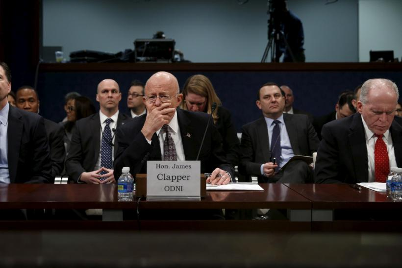 Comey, Clapper, Brennan at Congressional hearing