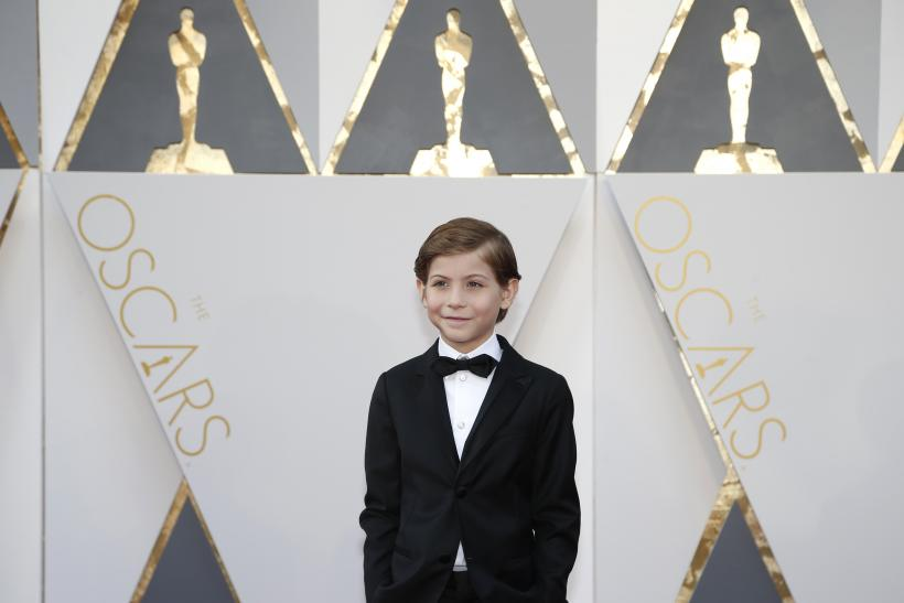 Presenter Jacob Tremblay arrives at the 88th Academy Awards