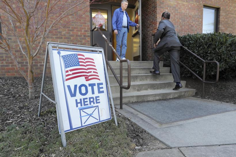 Super Tuesday: Voters head to the polls in several states