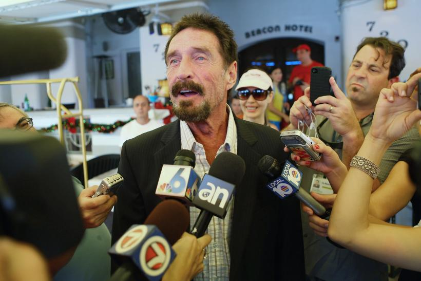 John McAfee, Miami Beach, Florida, Dec. 13, 2012