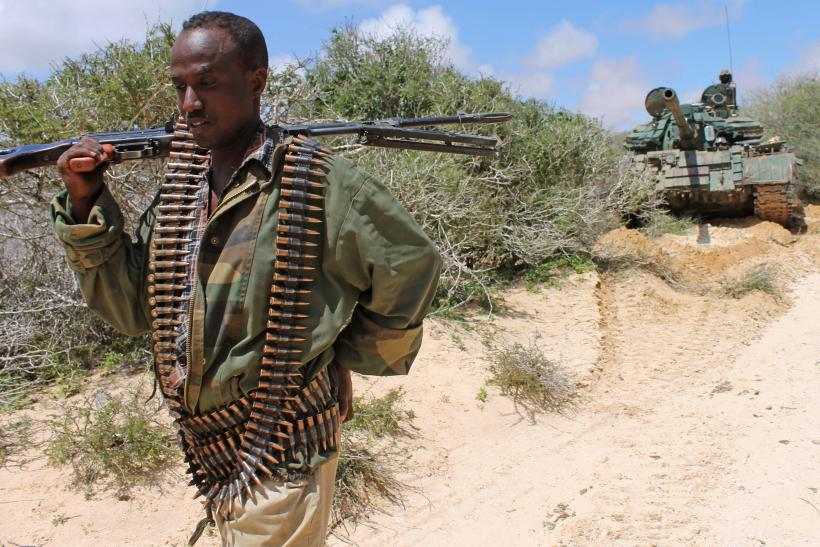 Amisom soldier