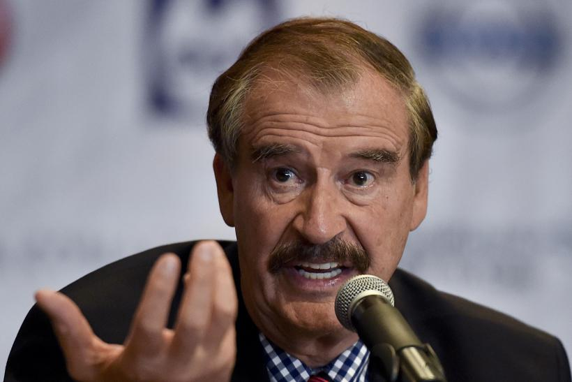 Vicente Fox, Mexico City, Sept. 22, 2014