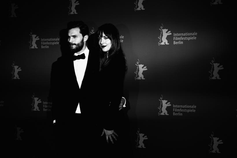 Dakota Johnson, Jamie Dornan spotted shooting Fifty Shades Darker