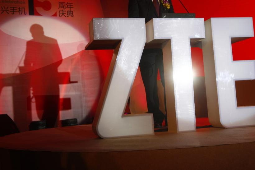 ZTE Corp. Logo, Beijing, April 18, 2013