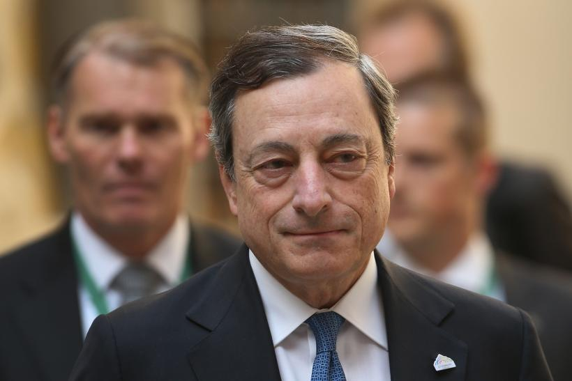 ECB Meeting Mario Draghi