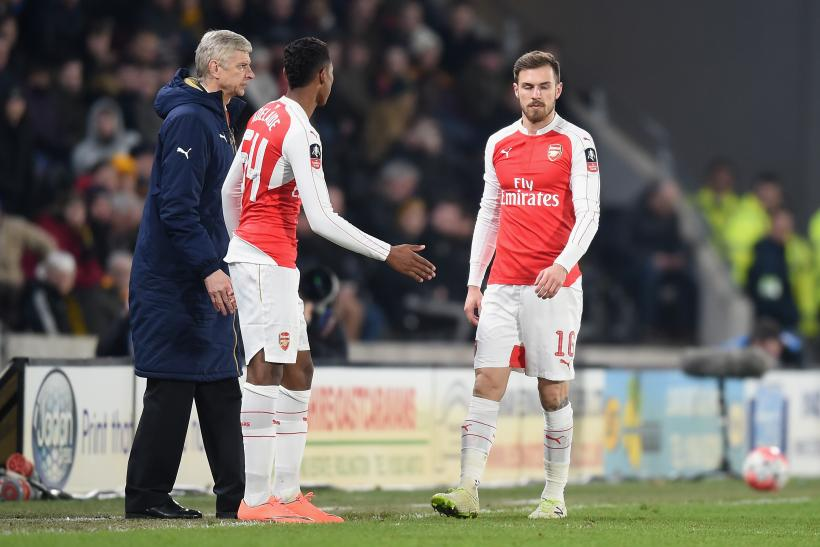 aaron ramsey injury