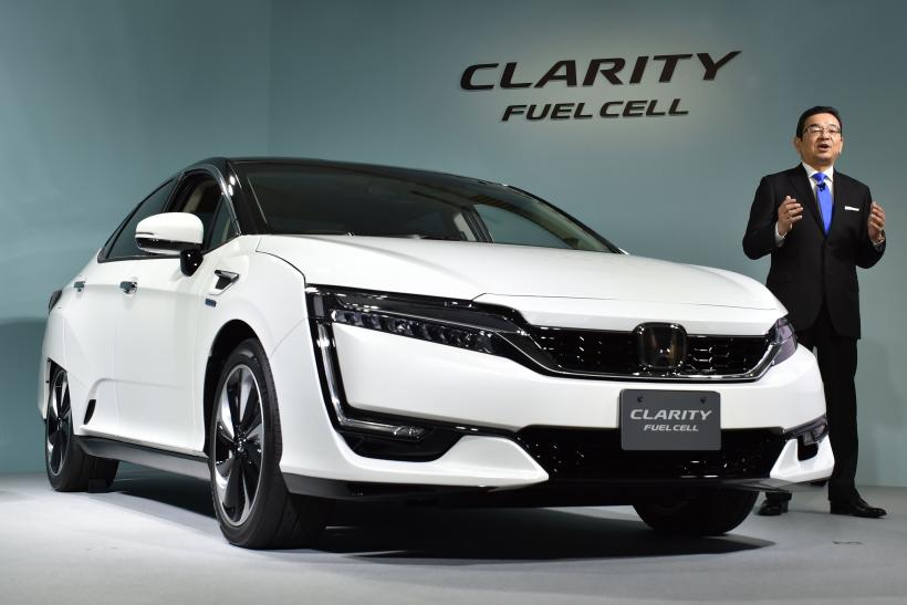 Honda GM Fuel Cell technology Clarity sales