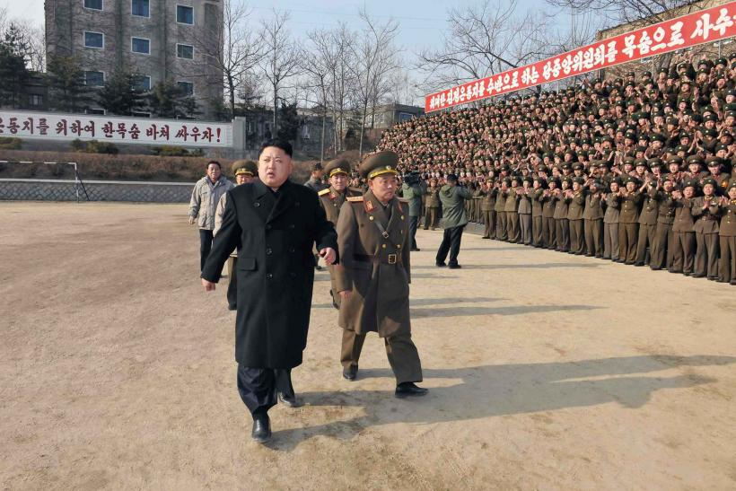 North Korea Kim Jong Un nuclear weapons, Strikes US