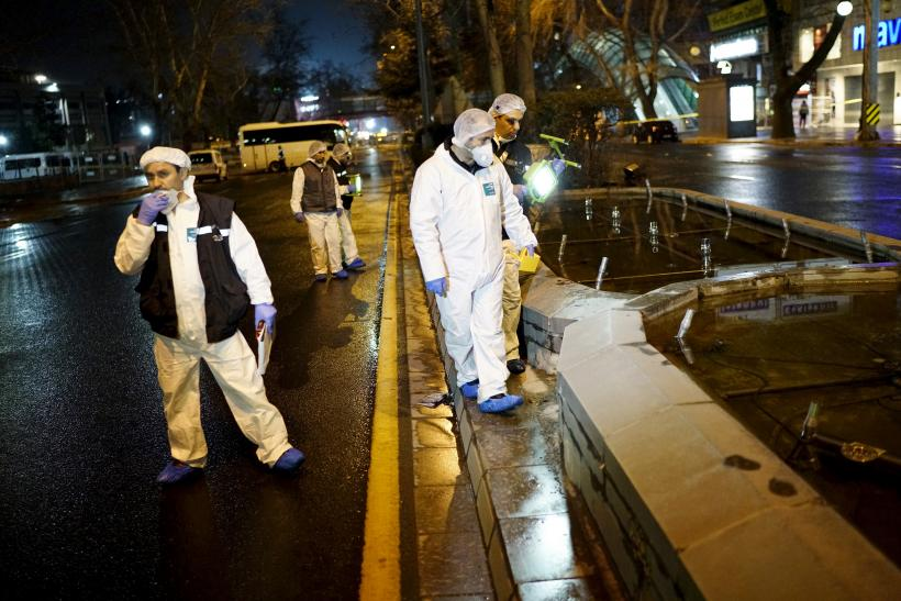 Ankara forensic officers