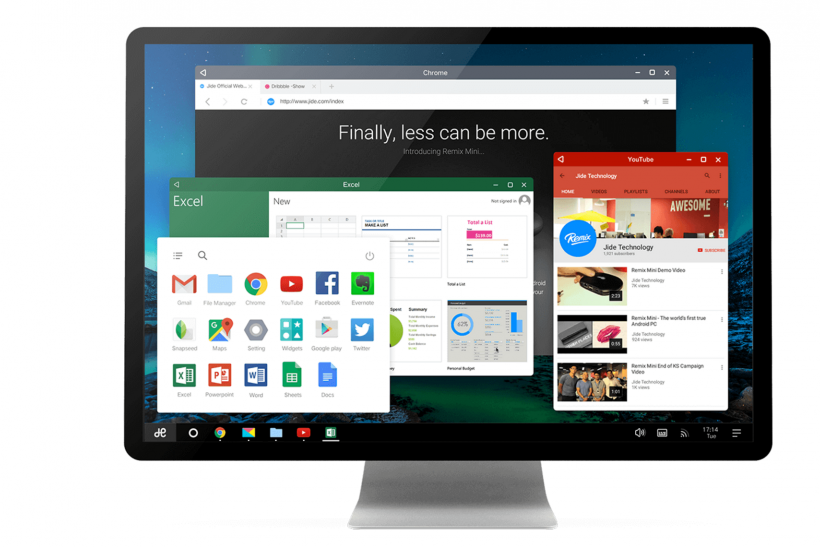 Android N On Desktop