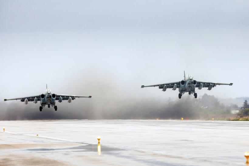 Russian jets withdraw from Syria.