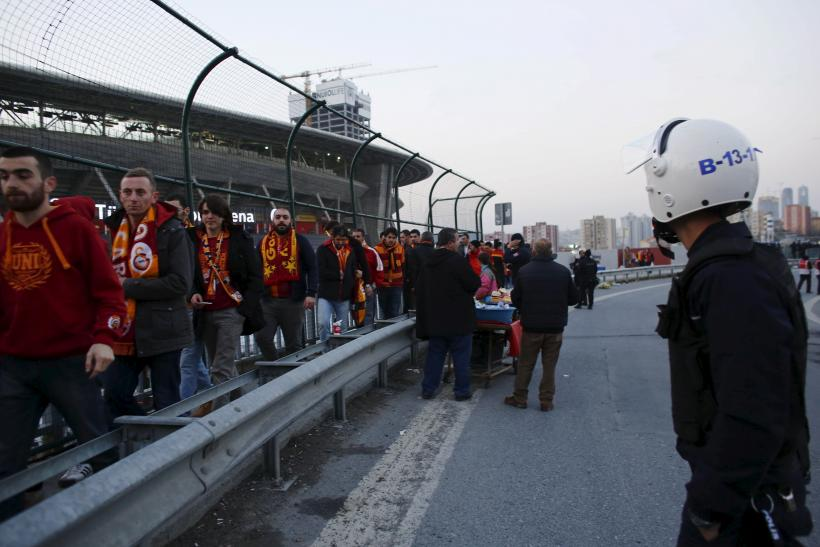 Turkey Soccer Cancelled Istanbul
