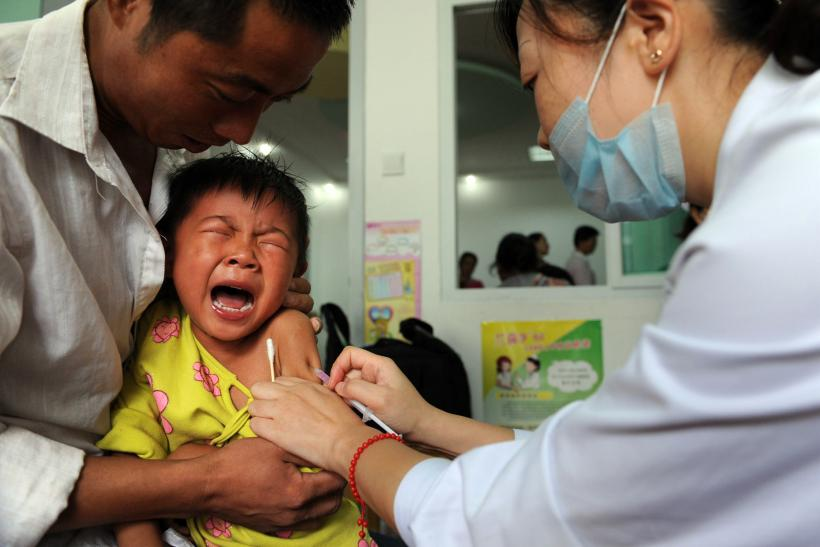 China vaccine scandal illegal authorities