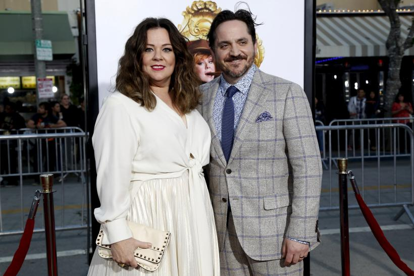Ben Falcone and his wife Melissa McCarthy