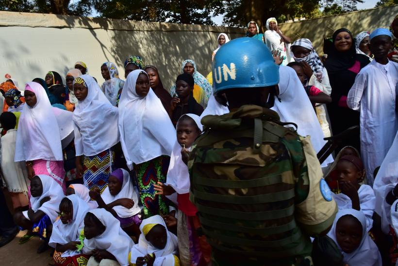 Central African Republic UN peacekeepers Sexual abuse