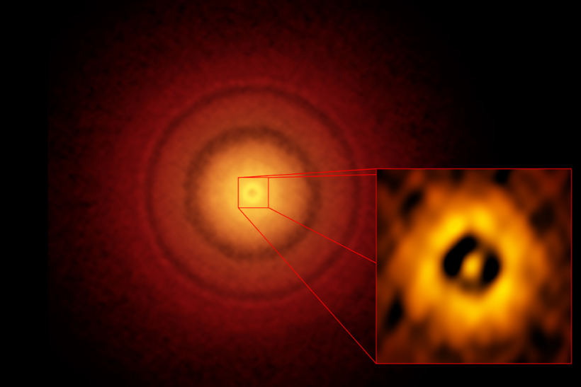 Infant Earth Spotted Around A Young Sun-Like Star