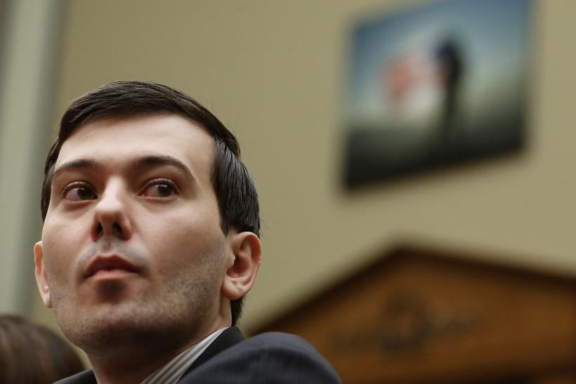 Drug Prices Shkreli