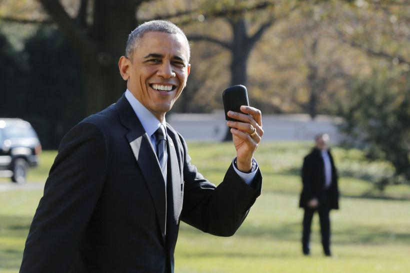President Barack Obama Blackberry
