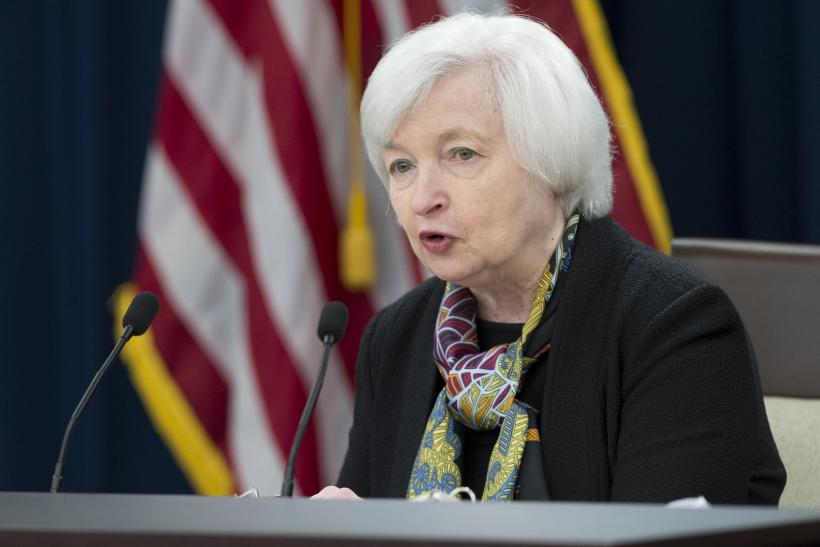 Janet Yellen March 2016