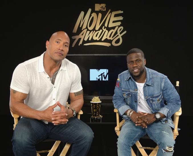 The Rock, Kevin Hart