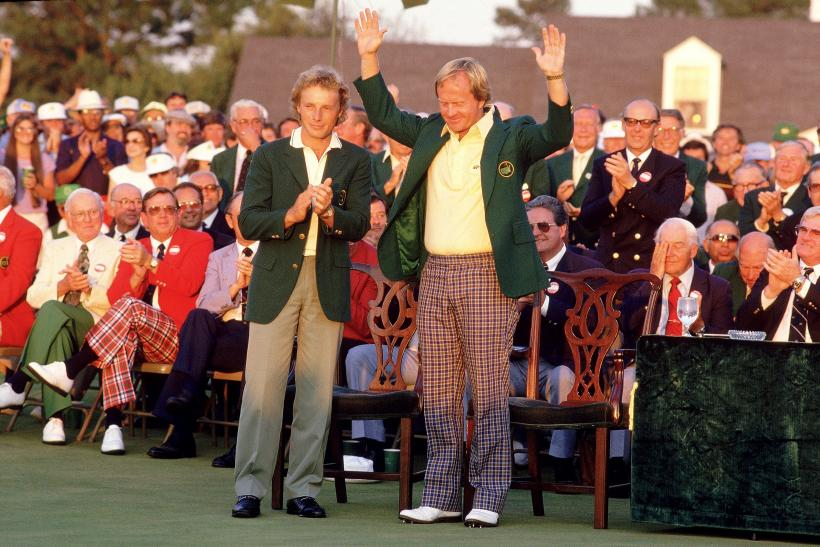 Jack Nicklaus' 1986 Masters Win: The Golden Bear's Opponents