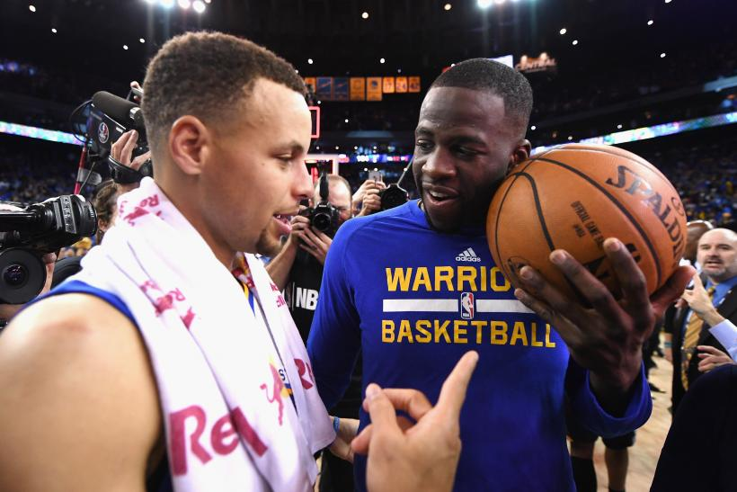 Steph Curry Draymond Green