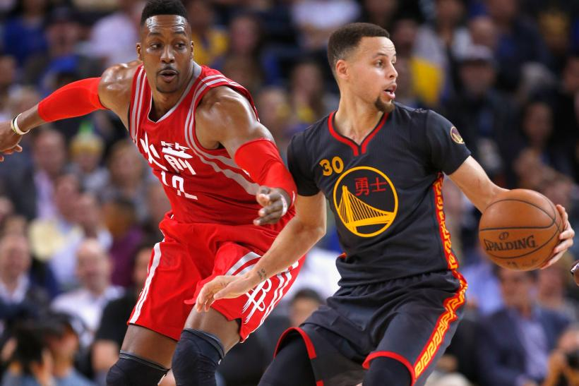 Golden State Warriors vs. Houston Rockets Game 1 Live Streaming