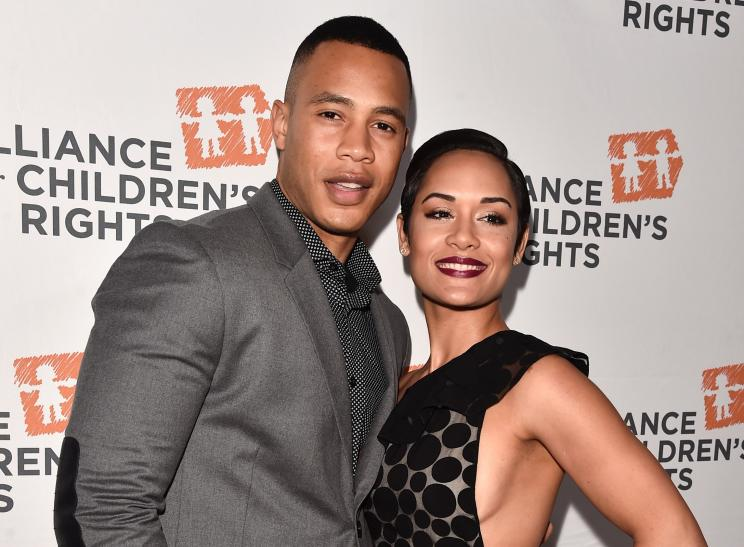 Trai Byers and Grace Gealey wedding