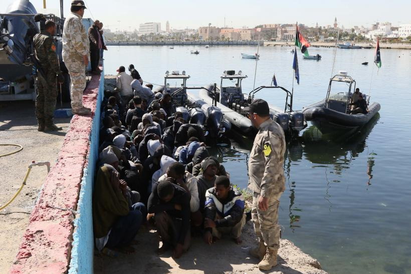 refugees killed vessel sinks Mediterranean Sea