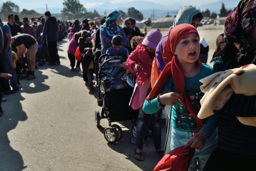 Greece Turkey refugees number EU Deal
