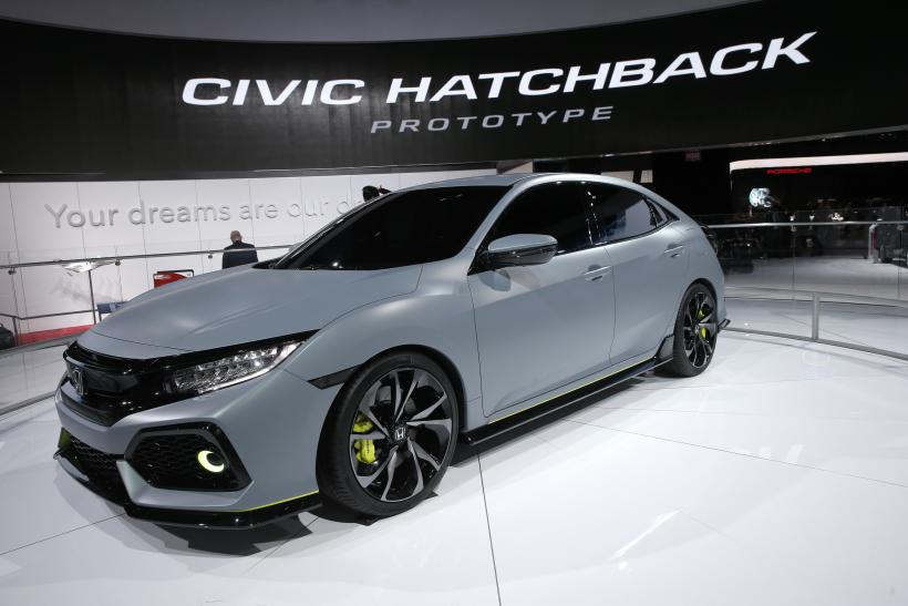 Honda Civic Hatchback April 2016 US New Auto Sales