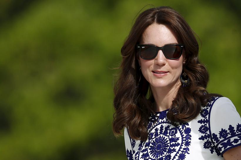 Britain's Catherine, the Duchess of Cambridge