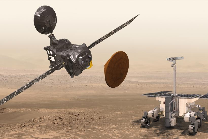 ESA's ExoMars On Course For October 19 Rendezvous With The Red Planet