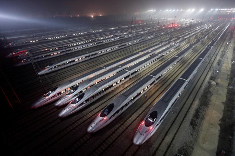 Chinese bullet trains