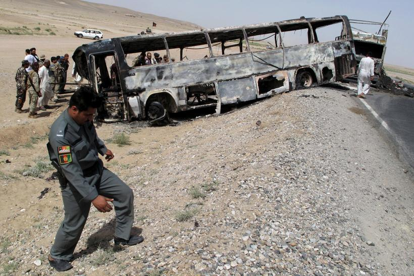 Afghanistan road accident