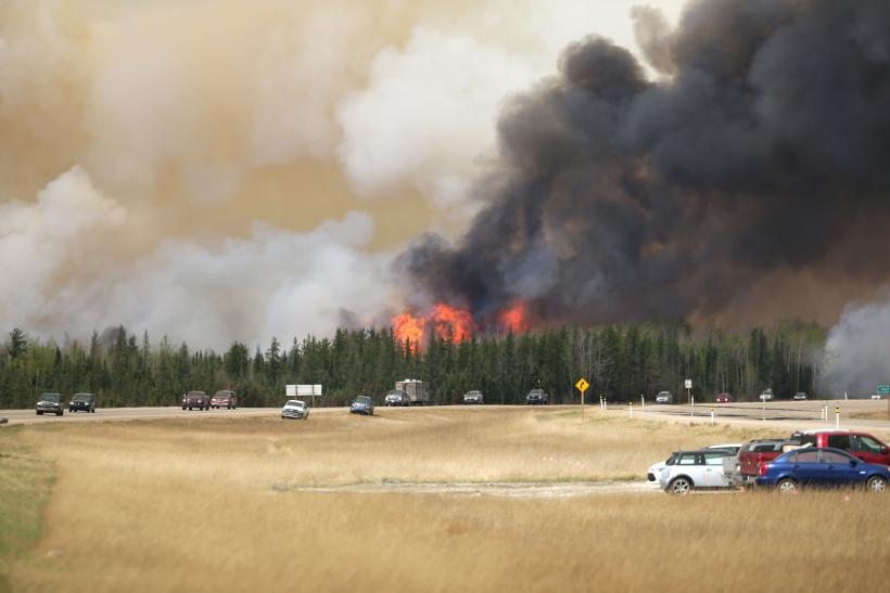 Wildfires in Canada are helping to drive up the price of oil.
