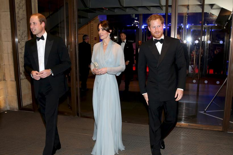 Prince William, Duke of Cambridge, Kate and and Prince Harry