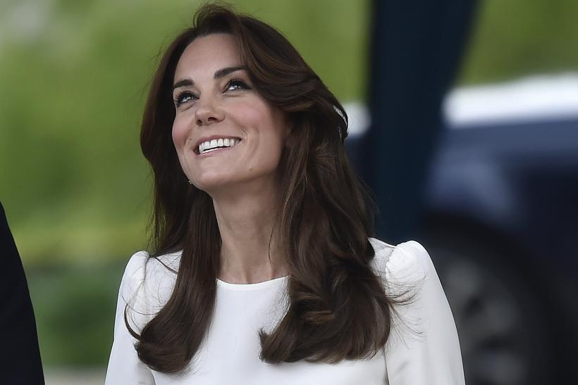 Kate Middleton wears a Goat blouse