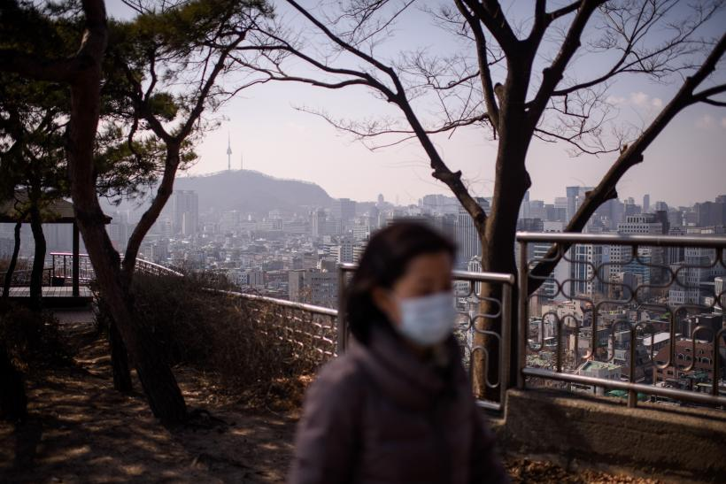 south korea pollution