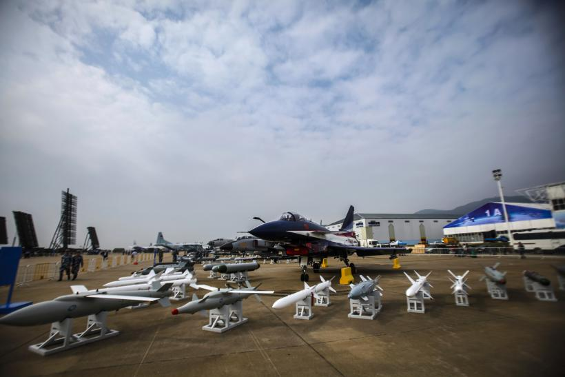 Chinese J-10 fighter plane