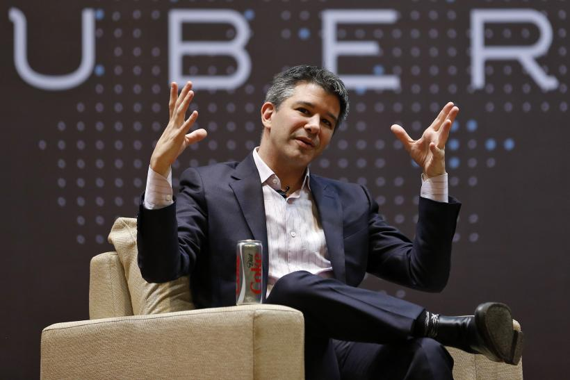 Uber CEO Travis Kalanick, India, Jan. 19, 2016