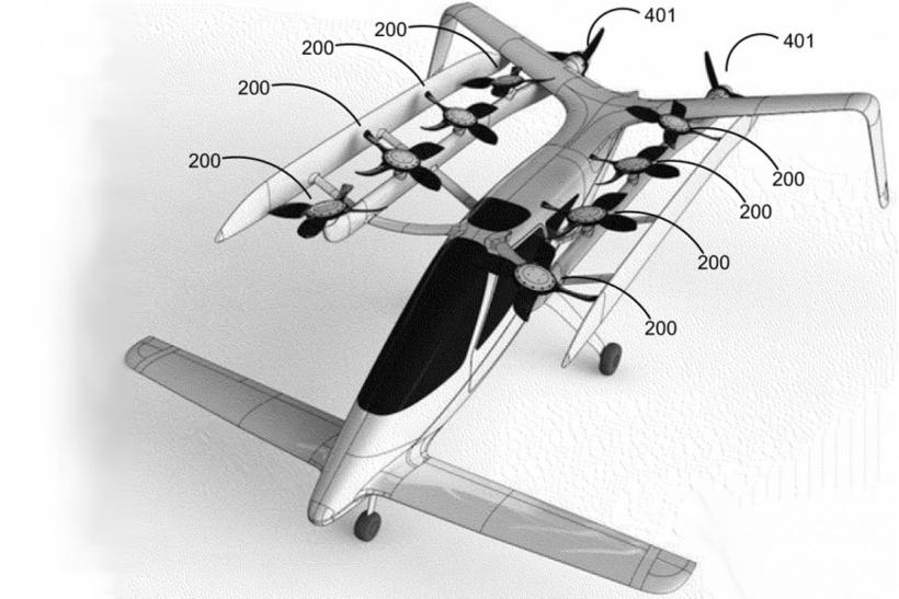 Larry Page Flying CAr