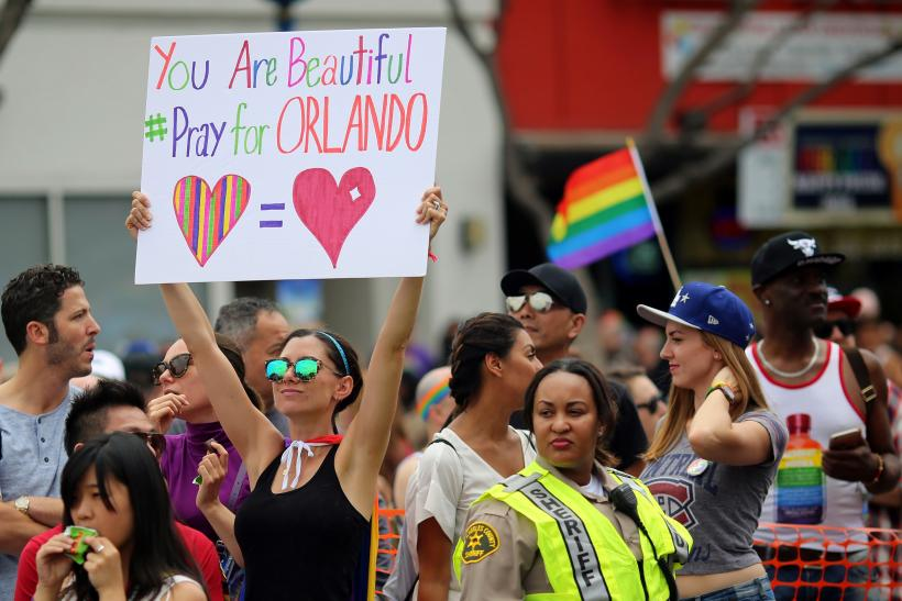 Sign of support for Orlando
