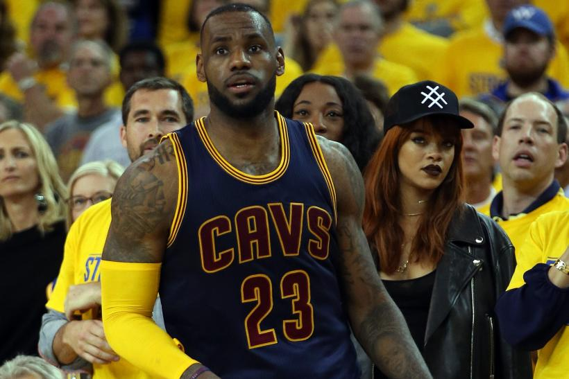 LeBron James Rihanna
